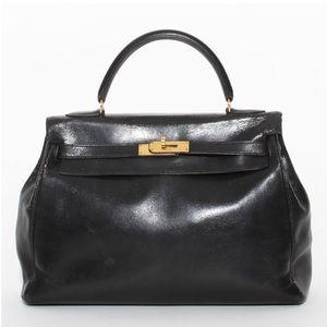 Vintage Hermès Kelly 35 Box Calf 1963